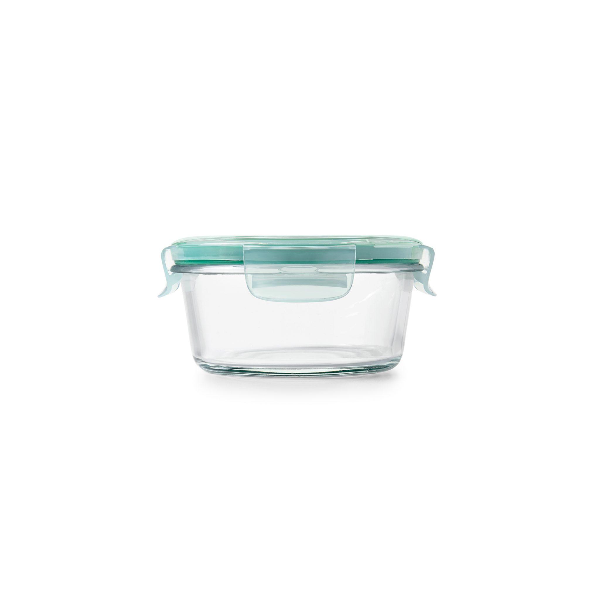 美國 OXO 耐熱玻璃保鮮盒 圓形 470ml