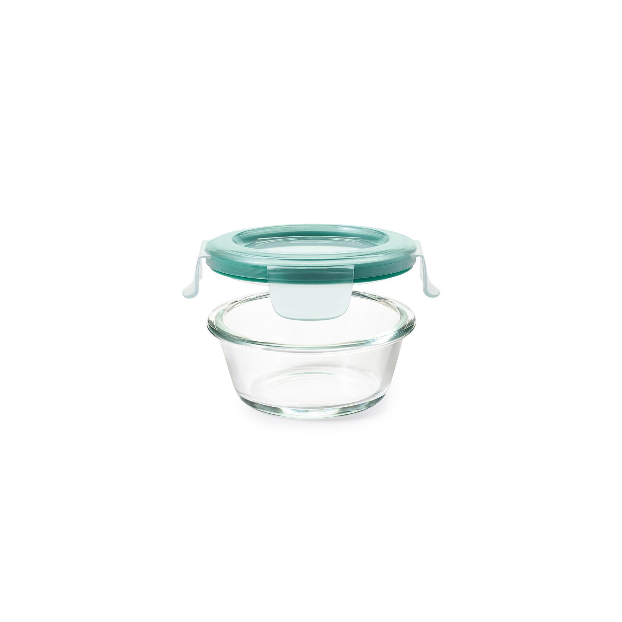 美國 OXO 耐熱玻璃保鮮盒 圓形 235ml