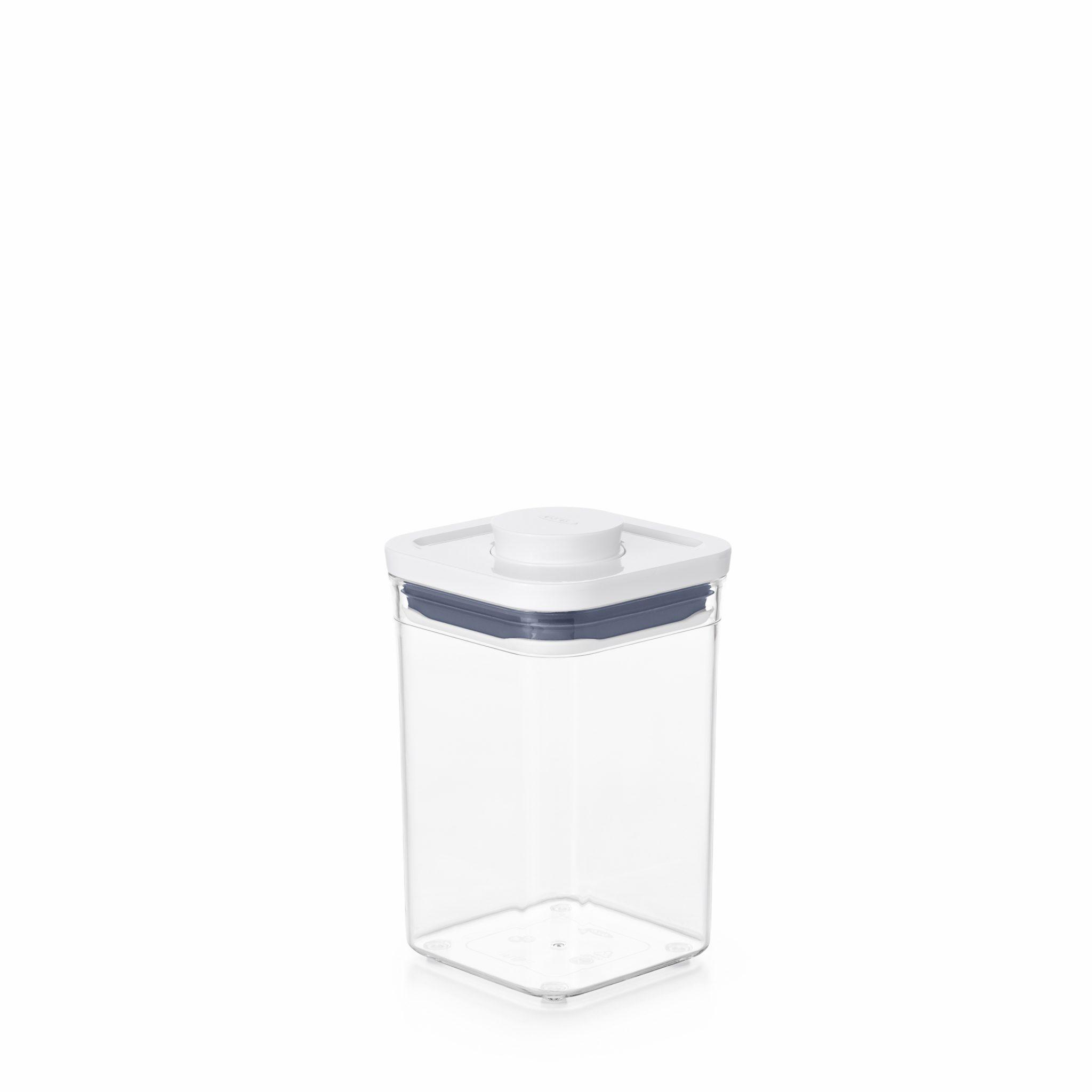 美國 OXO POP 正方按壓保鮮盒 1L