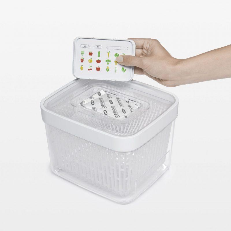美國 OXO 蔬果長鮮盒活性碳補充包 2入