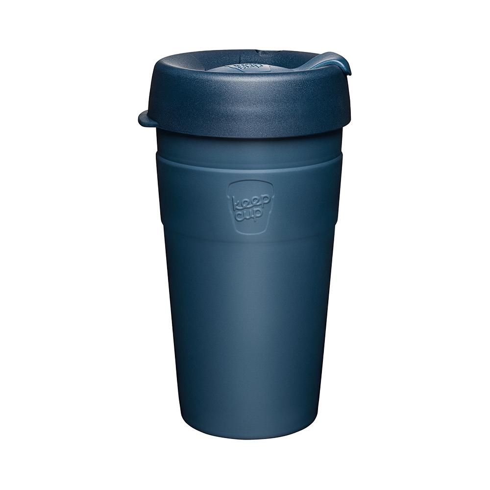 澳洲 KeepCup 雙層真空隨身杯 L - 優雅藍