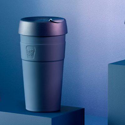 KeepCup雙層真空隨身杯-L---優雅藍2
