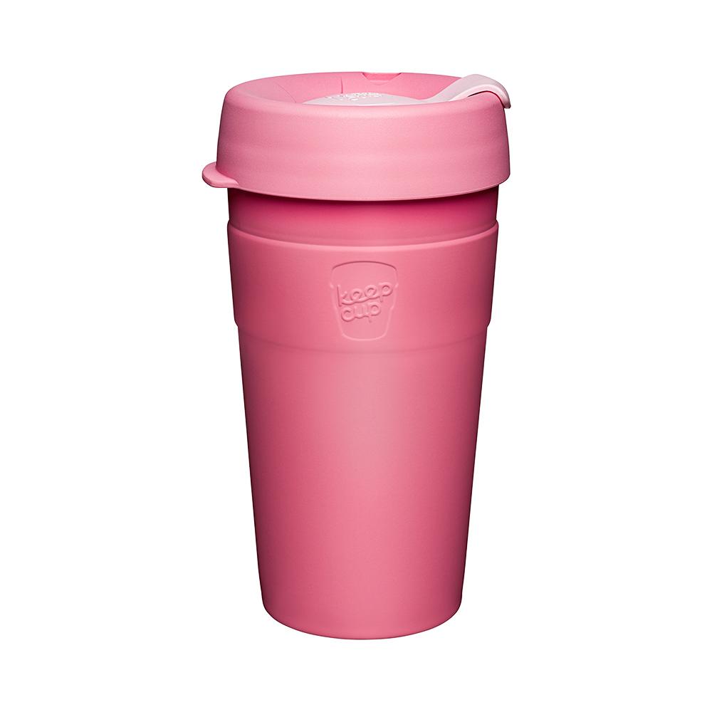 澳洲 KeepCup 雙層真空隨身杯 L - 甜心粉