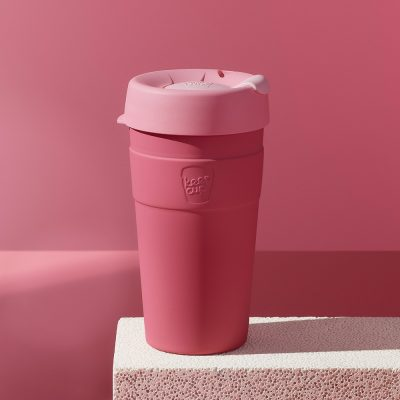KeepCup雙層真空隨身杯-L---甜心粉2