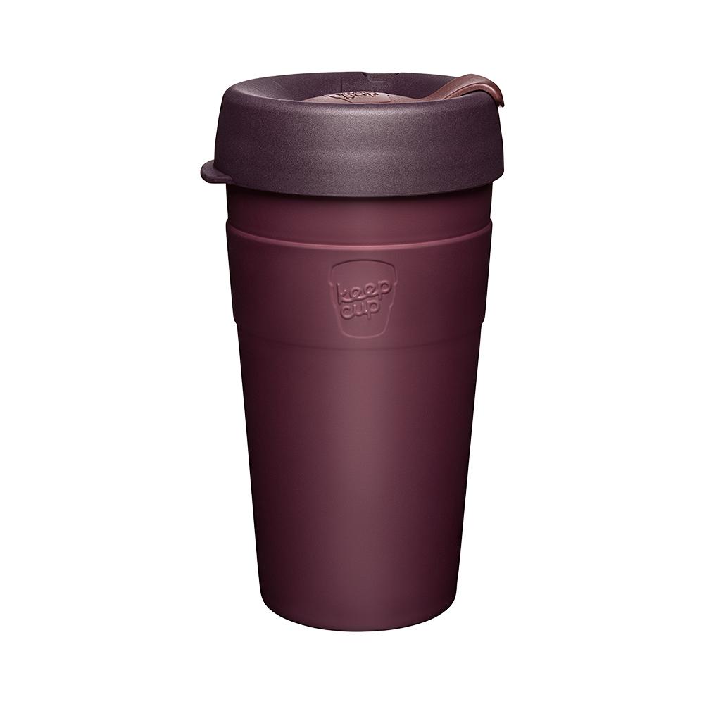 澳洲 KeepCup 雙層真空隨身杯 L - 甜酒紅