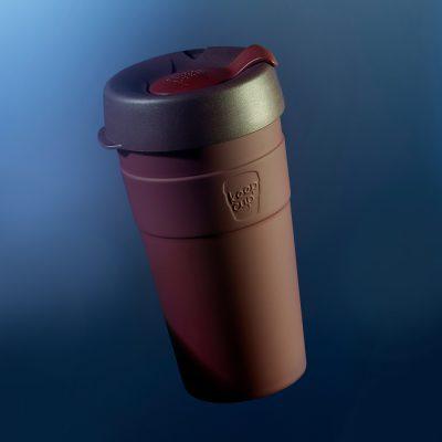 KeepCup雙層真空隨身杯-L---甜酒紅2