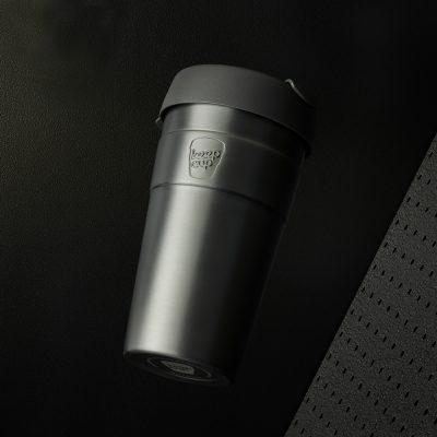 KeepCup雙層真空隨身杯-L---鎧甲銀2