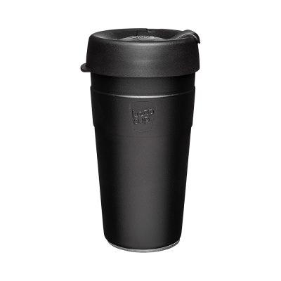 澳洲 KeepCup 雙層真空隨身杯 L - 魅力黑