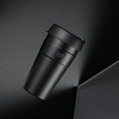 KeepCup雙層真空隨身杯-L---魅力黑2