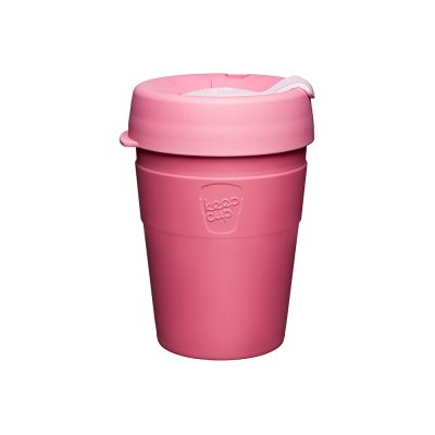 KeepCup雙層真空隨身杯-M-甜心粉
