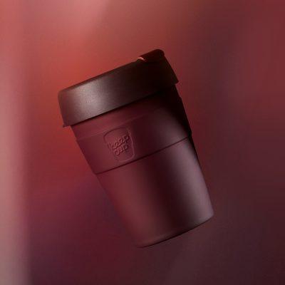 KeepCup雙層真空隨身杯-M---甜酒紅2