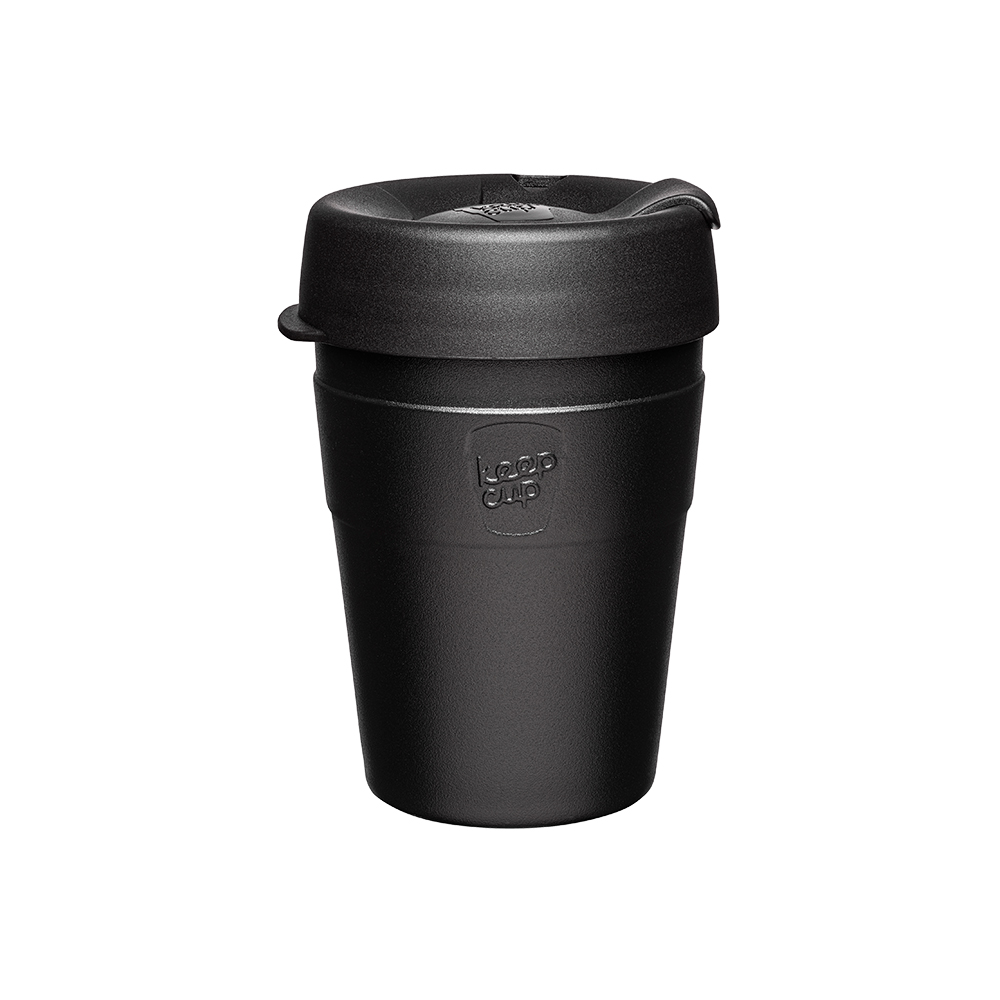 澳洲 KeepCup 雙層真空隨身杯 M - 魅力黑