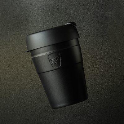 KeepCup雙層真空隨身杯-M----魅力黑2