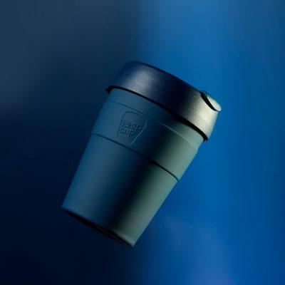 KeepCup雙層真空隨身杯M---優雅藍2