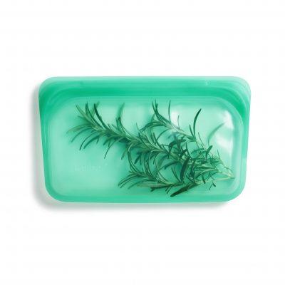 美國 Stasher 矽膠密封袋 長形 碧綠
