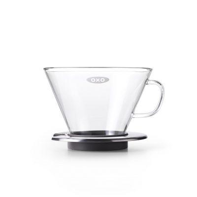 美國 OXO 玻璃蛋糕濾杯 (玻璃手沖上壺)