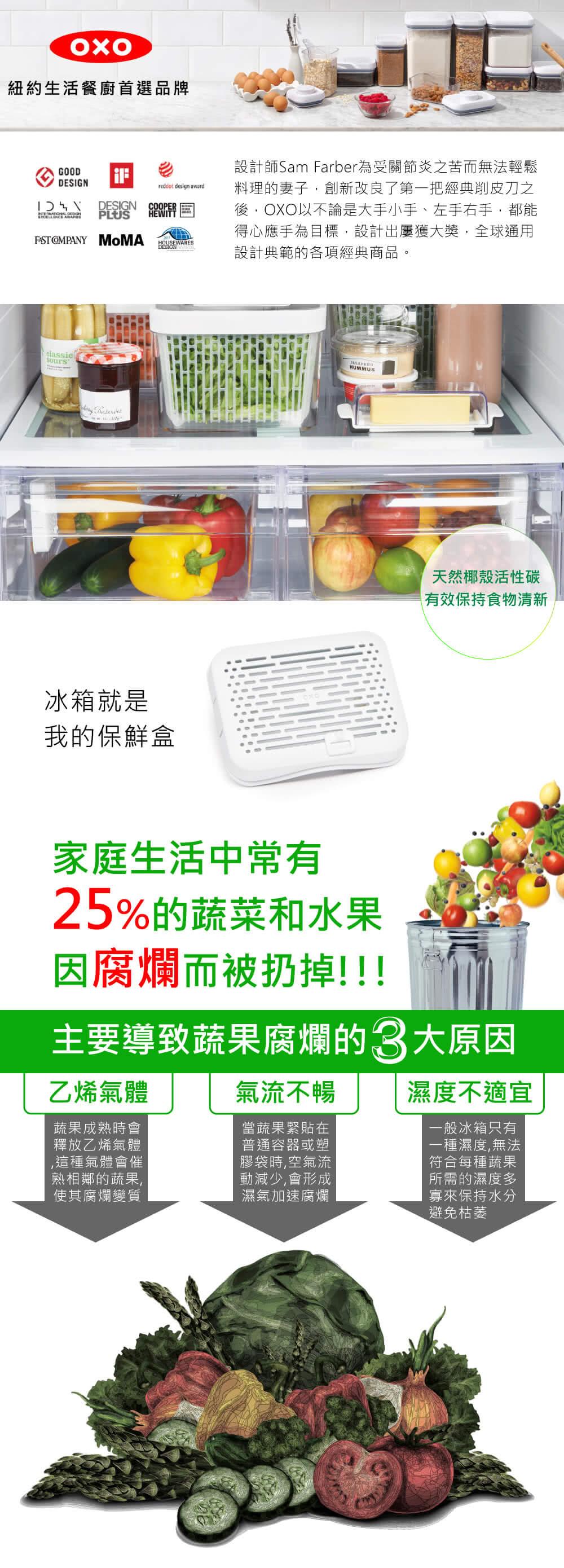 OXO冰箱就是我的保鮮盒