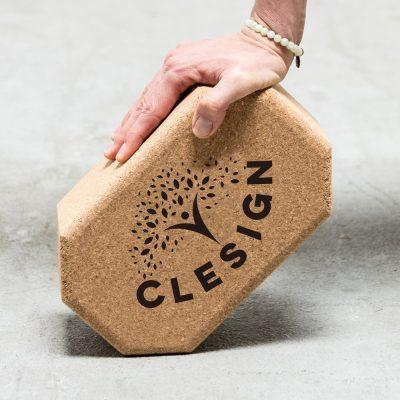 Clesign Cork block 無限延伸軟木瑜珈磚