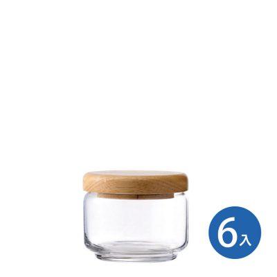 Ocean 木蓋儲物罐 325ml (6入)