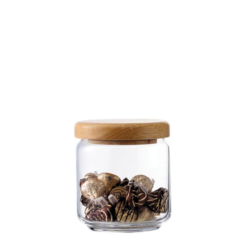 Ocean 木蓋儲物罐 500ml