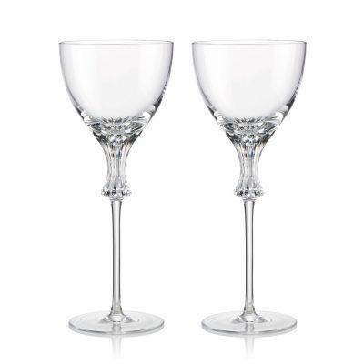 歐洲 ROGASKA 水晶玻璃 OMEGA 歐米茄 白酒杯 2支裝