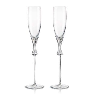 歐洲 ROGASKA 水晶玻璃 OMEGA 歐米茄 香檳杯 2支裝