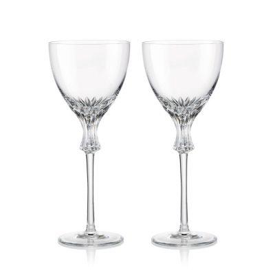 歐洲 ROGASKA 水晶玻璃 OMEGA 歐米茄 紅酒杯 2支裝
