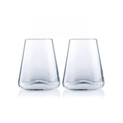 歐洲 ROGASKA 水晶玻璃 ARMONIA 達文西 威士忌杯 2支裝
