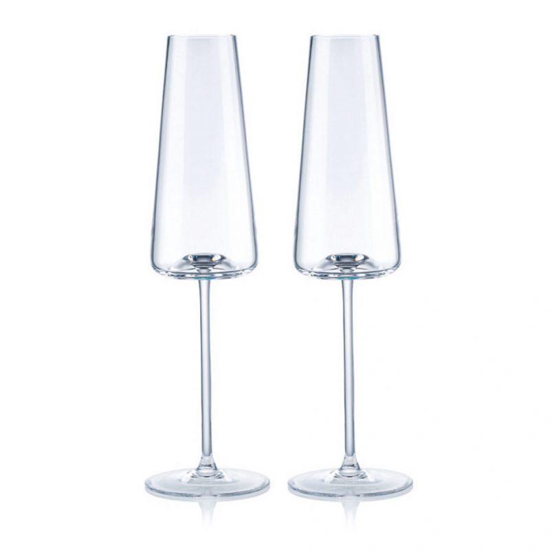歐洲 ROGASKA 水晶玻璃 ARMONIA 達文西 香檳杯 2支裝