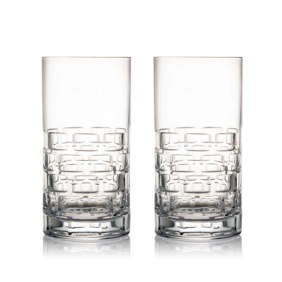歐洲 ROGASKA 水晶玻璃 MAISON 紳品邁森 高水杯 2支裝