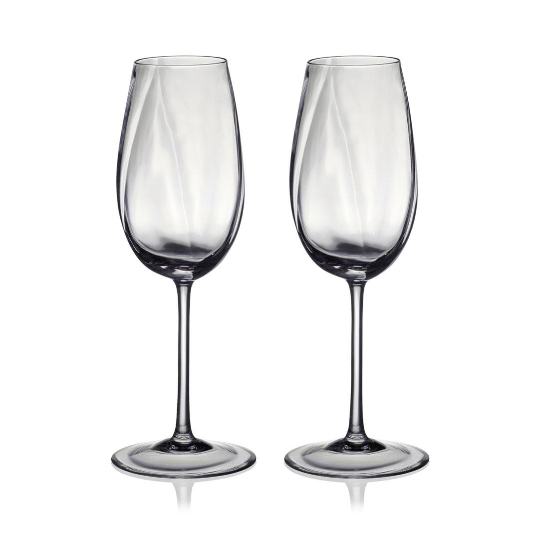 歐洲 ROGASKA 水晶玻璃 STONE 藍色東歐 香檳杯 2支裝