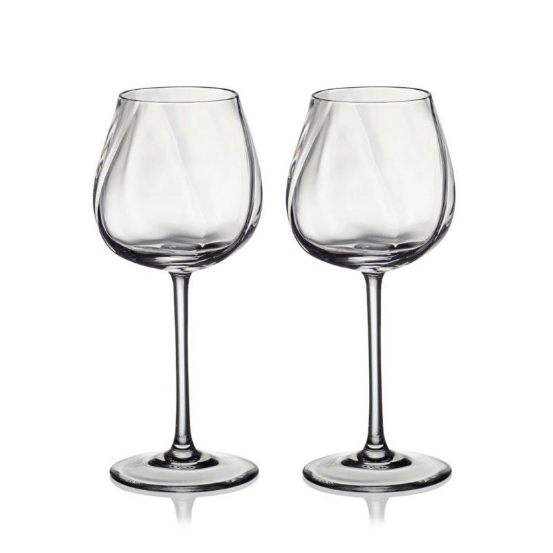歐洲 ROGASKA 水晶玻璃 STONE 藍色東歐 白酒杯 2支裝