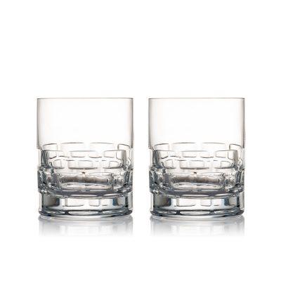 歐洲 ROGASKA 水晶玻璃 MAISON 紳品邁森 威士忌杯 2支裝