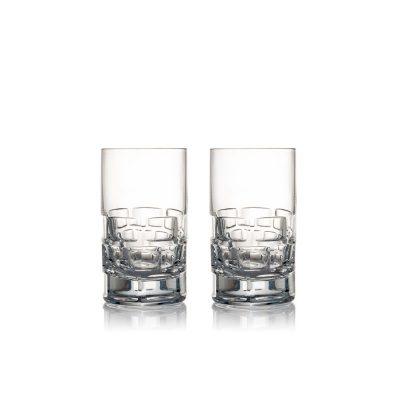 歐洲 ROGASKA 水晶玻璃 MAISON 紳品邁森 伏特加杯 2支裝