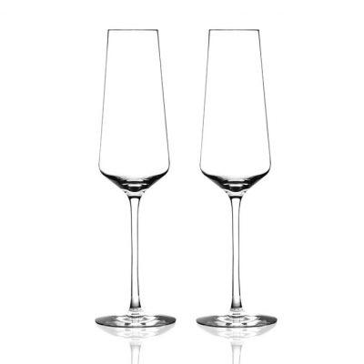 歐洲 ROGASKA 水晶玻璃 STOP 沉思者 香檳杯 2支裝