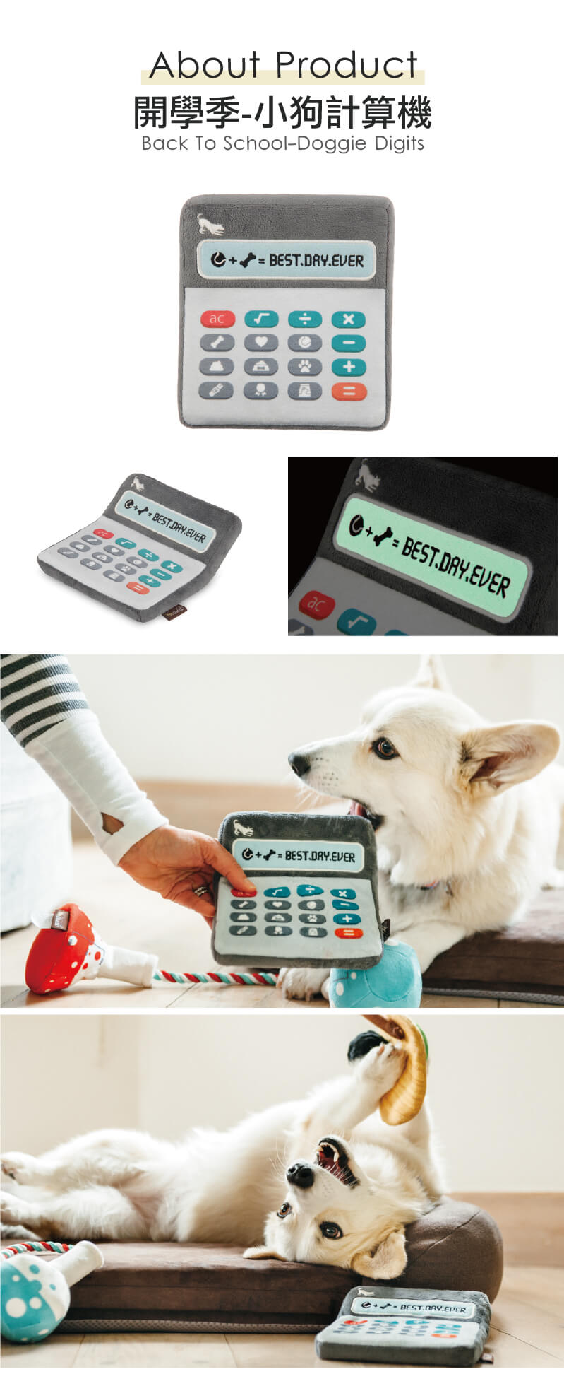 美國 P.L.A.Y. 玩具系列 開學季 小狗計算機