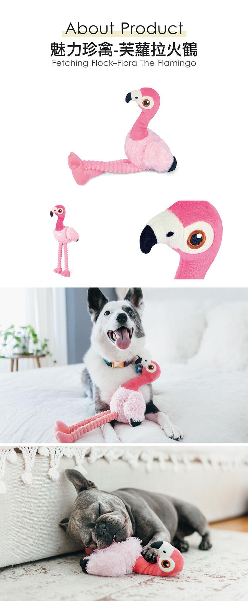 美國 P.L.A.Y. 玩具系列 魅力珍禽 芙蘿拉火鶴