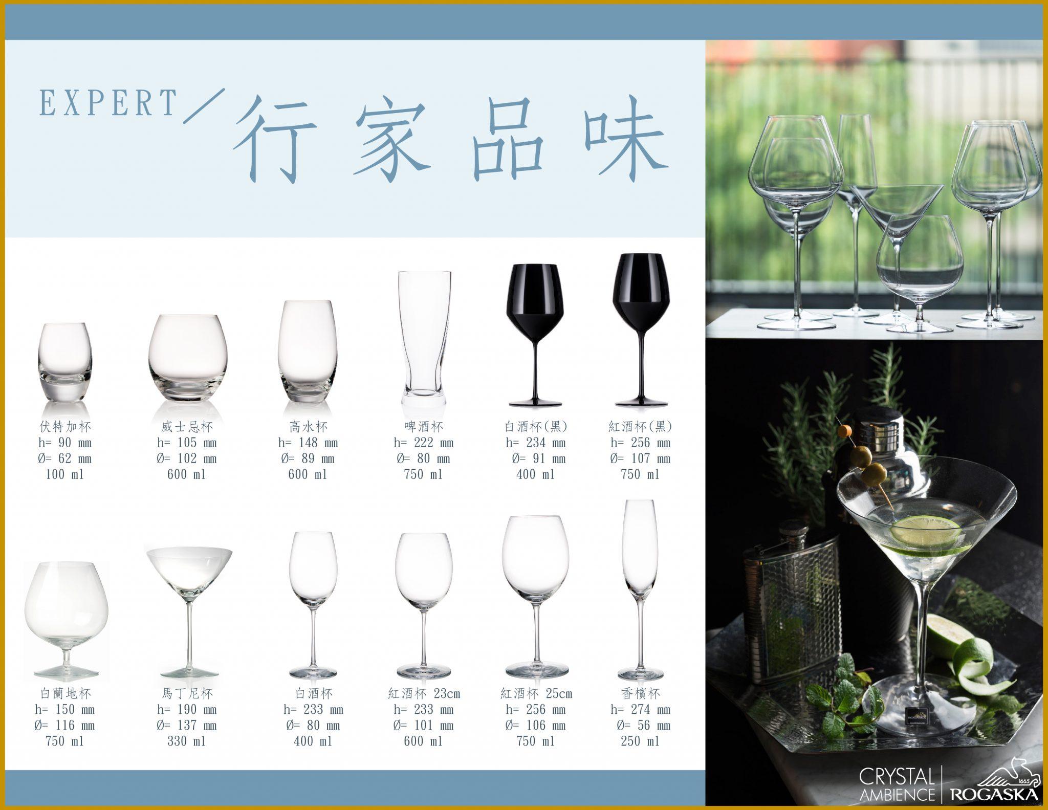 歐洲 ROGASKA 水晶玻璃 EXPERT 行家品味