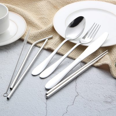 ZYC餐具組_時尚銀1