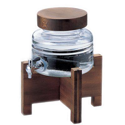 ADERIA 日本製附木架燒酌瓶 2L