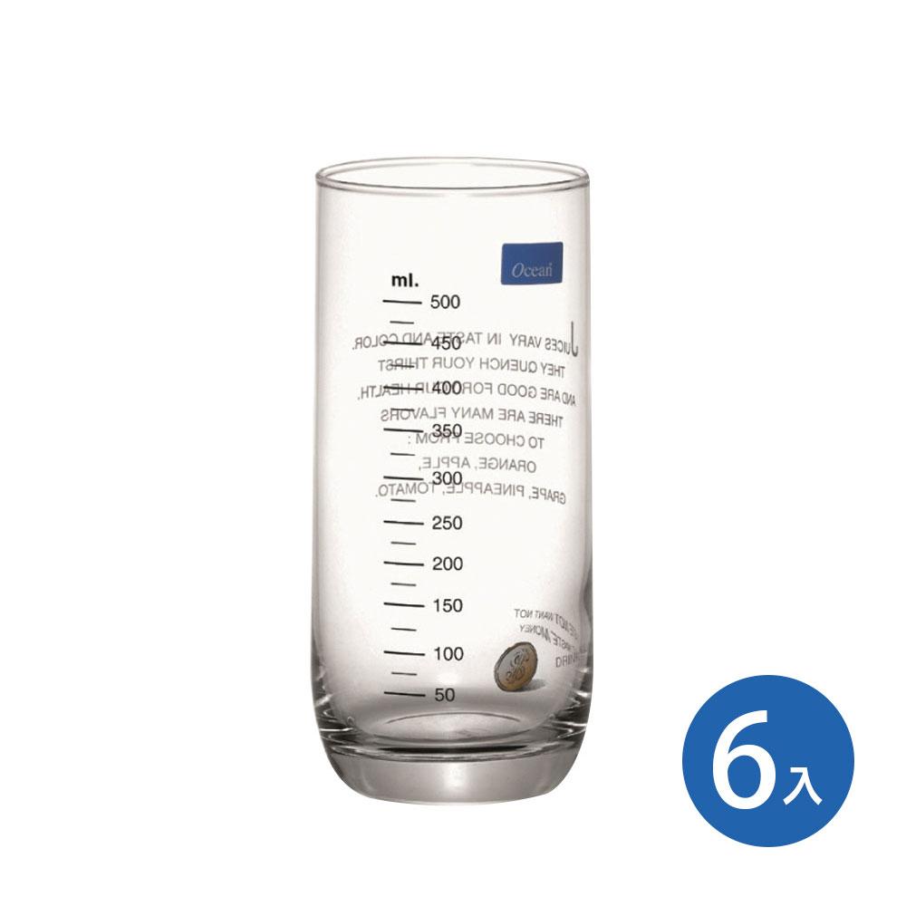 Ocean Juice&Health 刻度花杯 (6入)