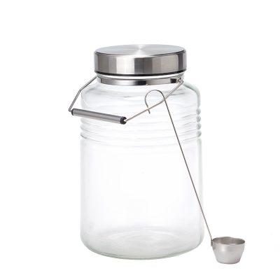 ADERIA 日本製金屬蓋梅酒罐-4000ml
