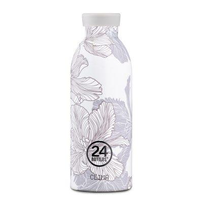 24Bottles不鏽鋼雙層保溫瓶500ml(附濾茶器)_花脈01