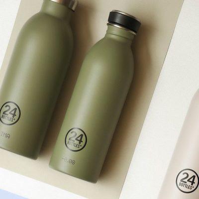 義大利 24Bottles 城市水瓶 500ml (橄欖綠)
