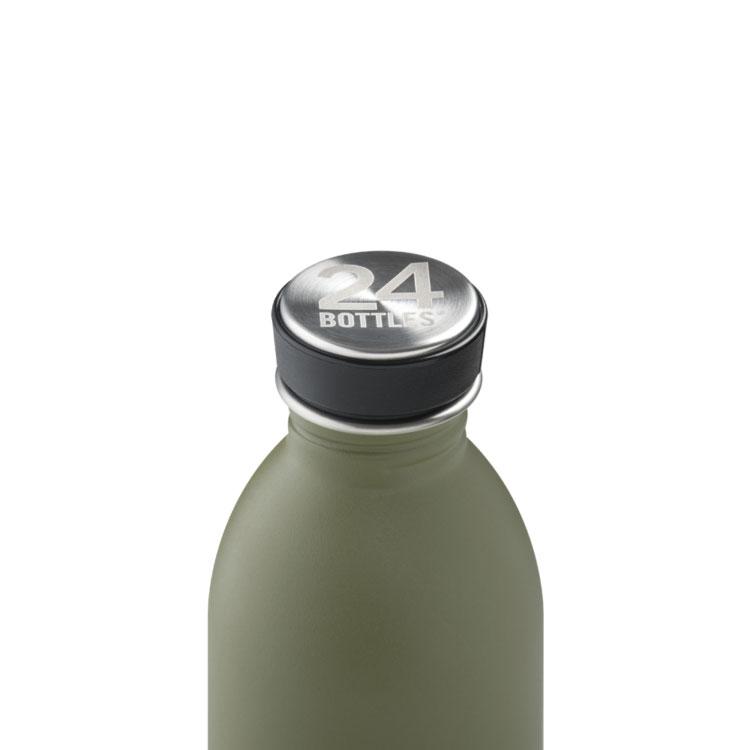 義大利 24Bottles 輕量冷水瓶 500ml (橄欖綠)