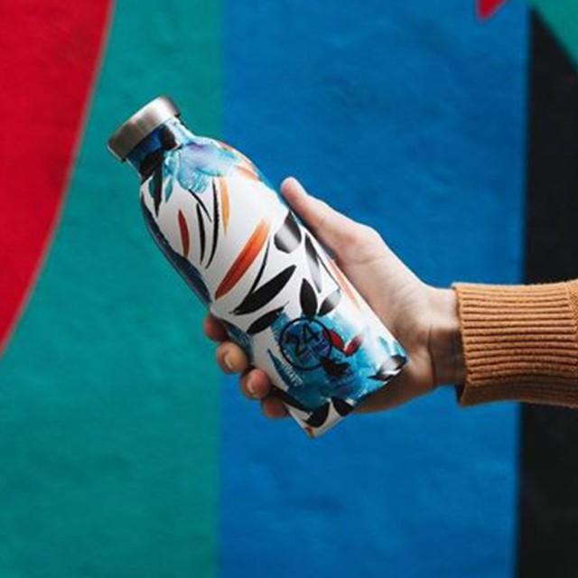 義大利 24Bottles 不鏽鋼雙層保溫瓶 500ml (純粹幸福)
