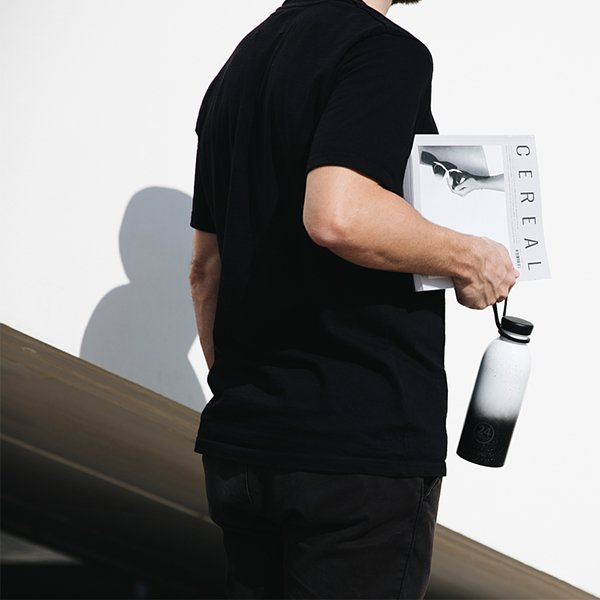 義大利 24Bottles 水瓶便利攜帶套環 (黑)