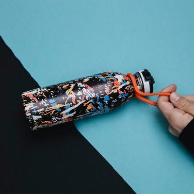 義大利 24Bottles 水瓶便利攜帶套環 (橘)