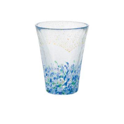 日本津輕 手作金箔海空飲料杯