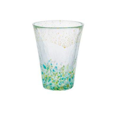 日本津輕 手作金箔山空飲料杯